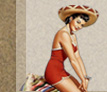 latina pin up